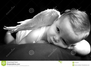What's this?  Could it be a Reed and Evie angel baby.....I'm down with that.
