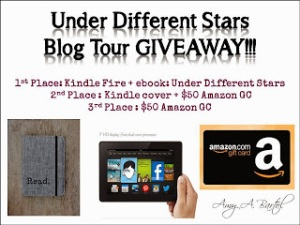GIVEAWAY Under Different Stars